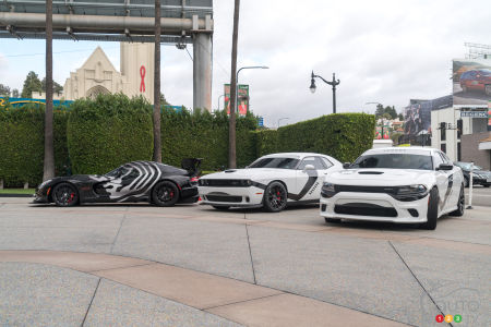Dodge unleashes trio of Star Wars-themed cars in Los Angeles