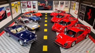 Large Collection of Ferraris To Be Auctioned Off