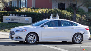 Self-driving Ford Fusion Hybrids to begin testing in 2016