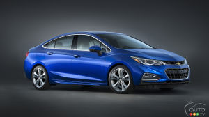 2016 Chevy Cruze to start at $15,995 in Canada