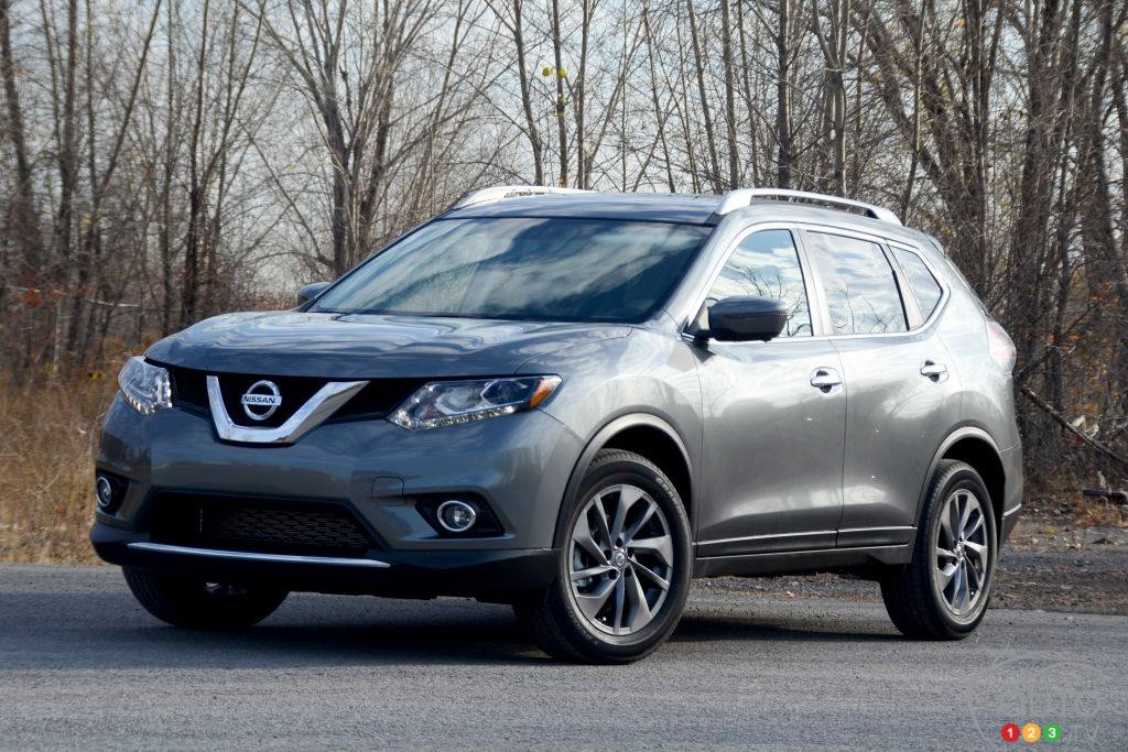 the 2016 nissan rogue keeps making families happy car news auto123. Black Bedroom Furniture Sets. Home Design Ideas