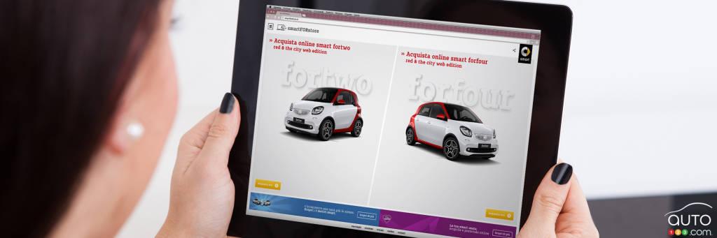 en italie achetez votre smart en ligne et faites la livrer actualit s automobile auto123. Black Bedroom Furniture Sets. Home Design Ideas