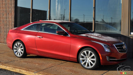 2016 Cadillac ATS Coupe 2.0L Turbo Performance AWD Review