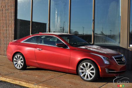 The 2016 Cadillac Ats Coupe 2 0l Turbo Means Business Car Reviews