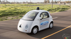 Ford could build Google's self-driving cars