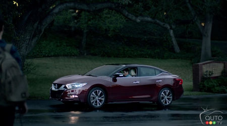 Surprise! Nissan reveals 2016 Maxima in Super Bowl commercial