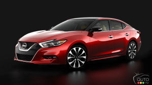 Next-generation 2016 Nissan Maxima set for New York Auto Show debut