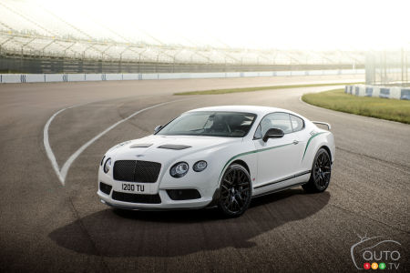 Bentley Continental GT3-R 2015 : aperçu