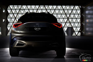 Infiniti jumps on sub-compact CUV bandwagon with QX30 Concept