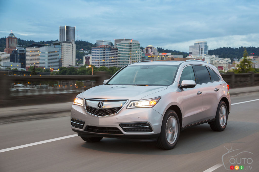 Acura announces many changes to 2016 MDX