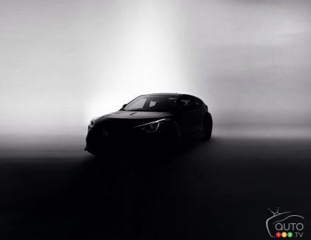 Hyundai teases new Veloster ahead of Chicago Auto Show