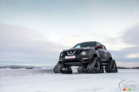 Nissan JUKE NISMO RSnow is right on track!
