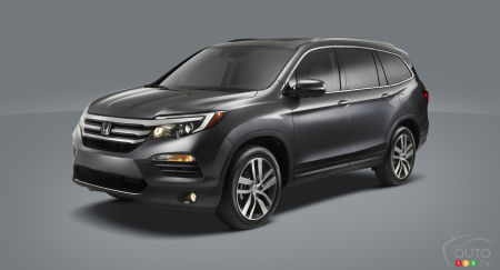 Chicago 2015: World premiere of 2016 Honda Pilot