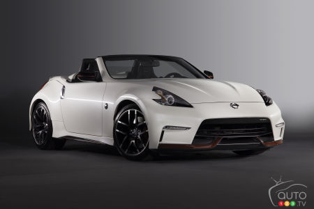 Chicago 2015: Nissan presents 370Z NISMO Roadster Concept