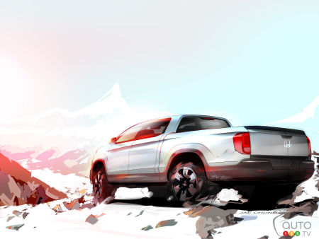 Chicago 2015: Honda previews next-generation Ridgeline