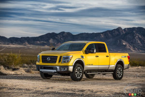 Toronto 2015: Nissan Titan XD makes Canadian debut