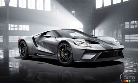 Ford Gt Production To Take Place In Ontario