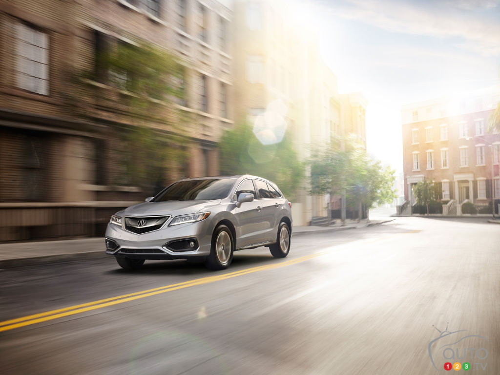 Chicago 2015: Global debut of 2016 Acura RDX