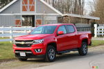 Chevrolet Colorado 2015 : essai routier