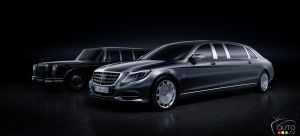 New Mercedes-Maybach Pullman announced for Geneva Motor Show