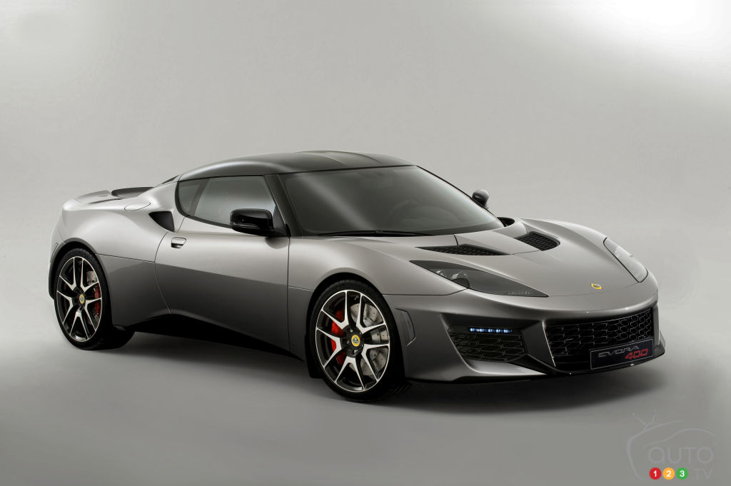 All-new Lotus Evora 400 to be sold in North America