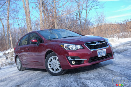 2015 Subaru Impreza 2.0i Limited Hatchback Review