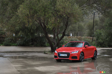 2016 Audi TT/TTS Roadster First Impression