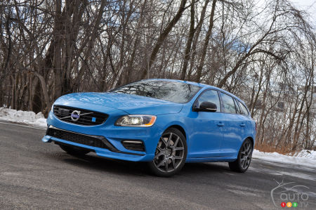 2015 Volvo V60 Polestar Review