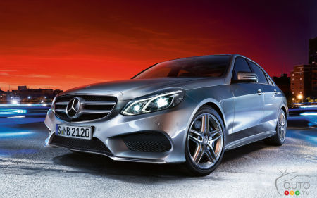 2015 Mercedes-Benz E-Class Sedan Preview