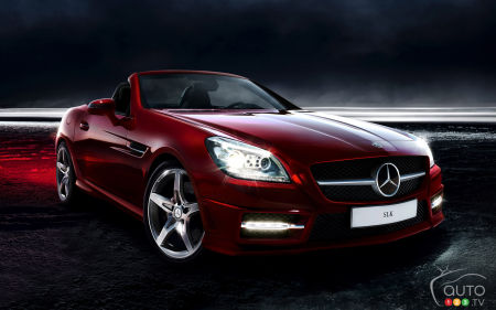 2015 Mercedes-Benz SLK-Class Preview