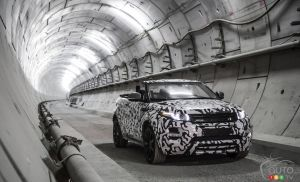 Land Rover confirms Range Rover Evoque Convertible production