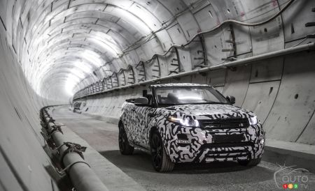 Range Rover Evoque décapotable: production confirmée