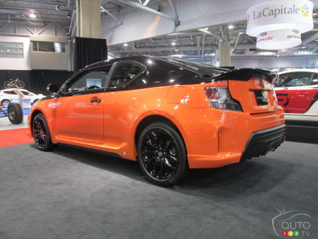 2015 Quebec City Auto Show: Scion launches tC Release Series 9.0