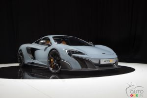 2015 Geneva Motor Show: McLaren announces limited 675LT production