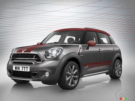 2015 Geneva Motor Show: MINI Countryman Park Lane adds flair