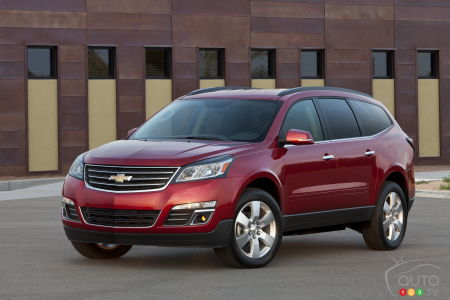 2015 Chevrolet Traverse Preview