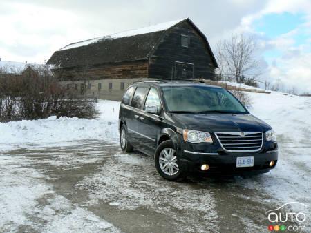 2009 chrysler town & country recalls
