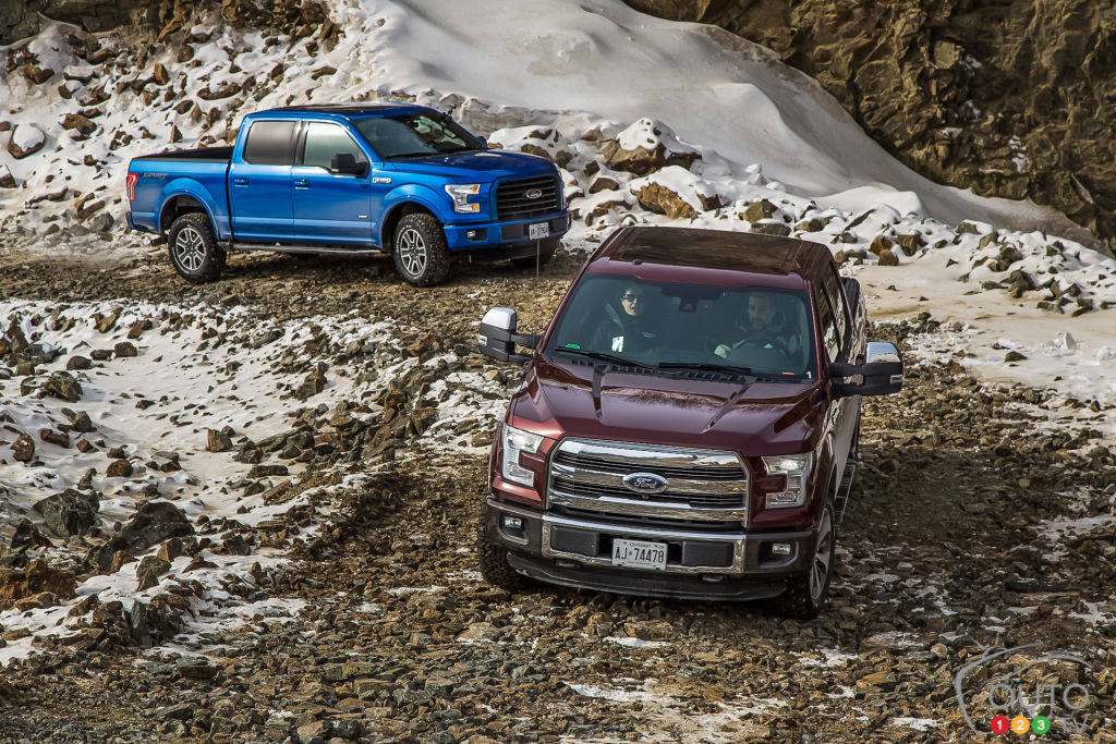 Winter towing and hauling: F-150 makes the grade