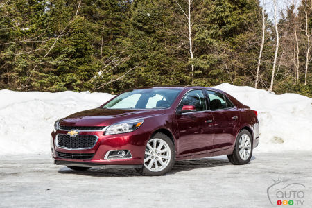 2015 Chevrolet Malibu LTZ Review