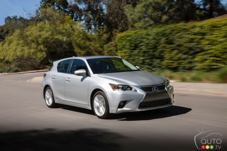 2015 Lexus CT 200h Preview
