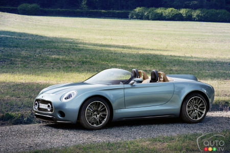 MINI Superleggera concept to enter production in 2018