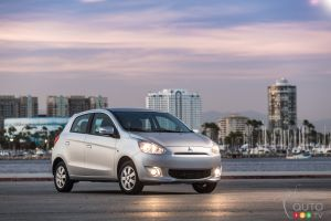 2015 Mitsubishi Mirage Preview