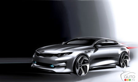 2015 New York Auto Show: Get ready for Kia's fully redesigned Optima