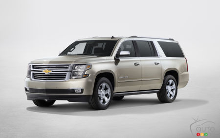 Rumour: GM working on Chevrolet Suburban HD for 2016
