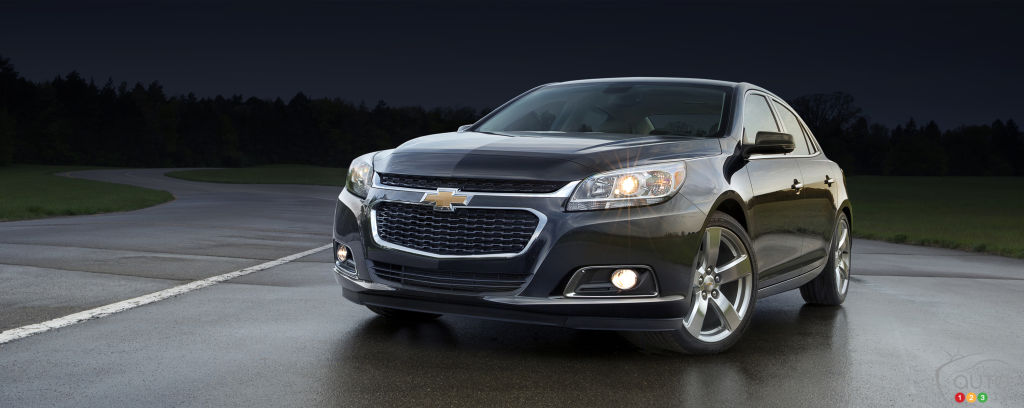 Recall on nearly 5,000 Chevrolet Malibu sedans in Canada