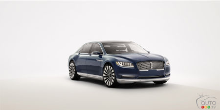 2015 New York Auto Show: Lincoln Continental concept signals revival