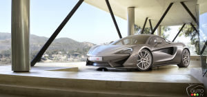 2015 New York Auto Show: World debut of McLaren 570S Coupe