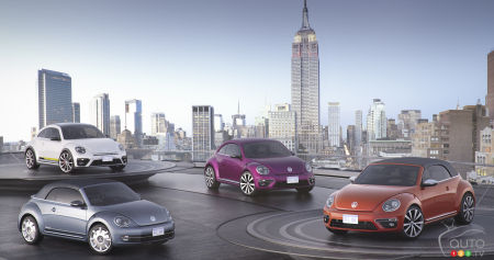 New York 2015 : la Volkswagen Golf Alltrack et 4 concepts Beetle