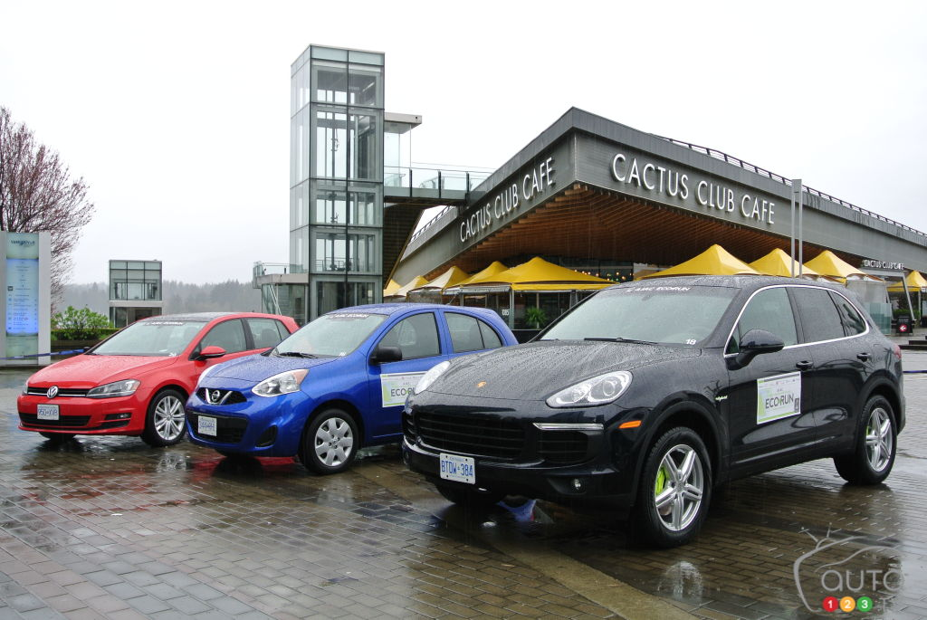 2015 AJAC EcoRun: Green is the Word