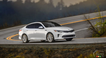 2015 New York Auto Show: 2016 Kia Optima world premiere